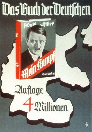 Hitler Book Mein Kampf In English